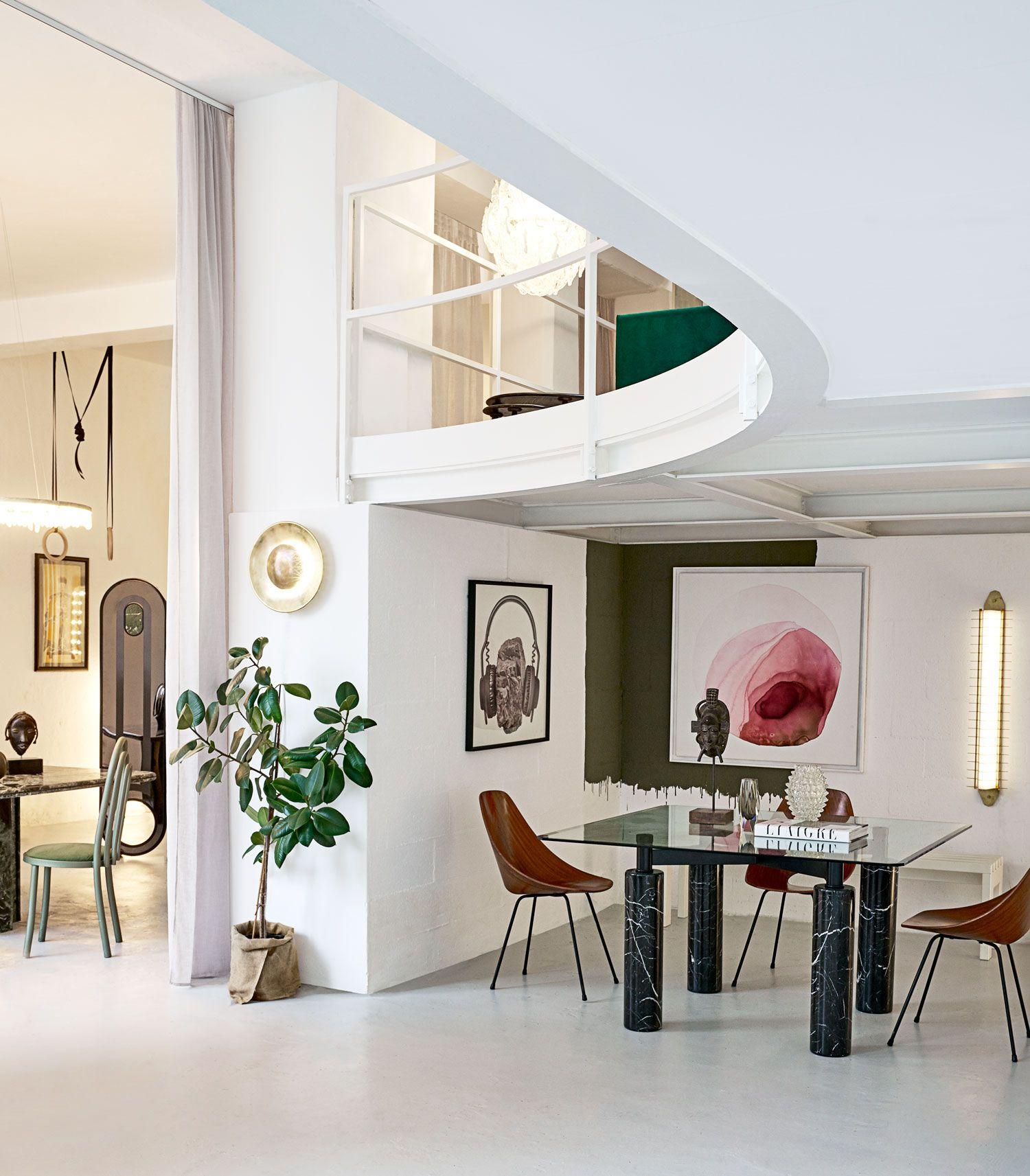 Tommaso Spinzi S Epic Loft Apartment In Milan Yellowtrace Interior Design Home Loft Apartment