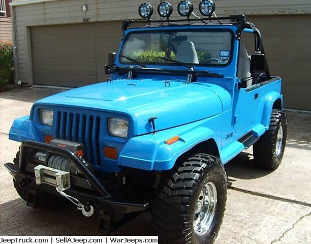 1989 Jeep Wrangler Islander 4x4 Here Are The Newer Items