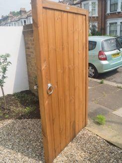 Guildford side gate also in courtyard garden gates wooden rh pinterest