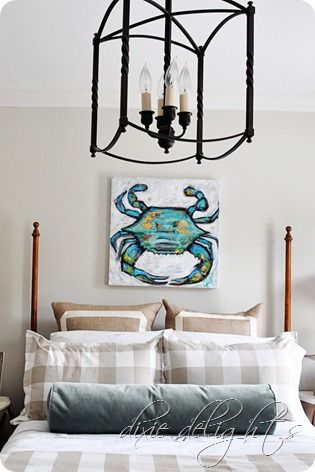 Carriage House Chandelier By Ballard Designs I Via Amanda Dixie Delights