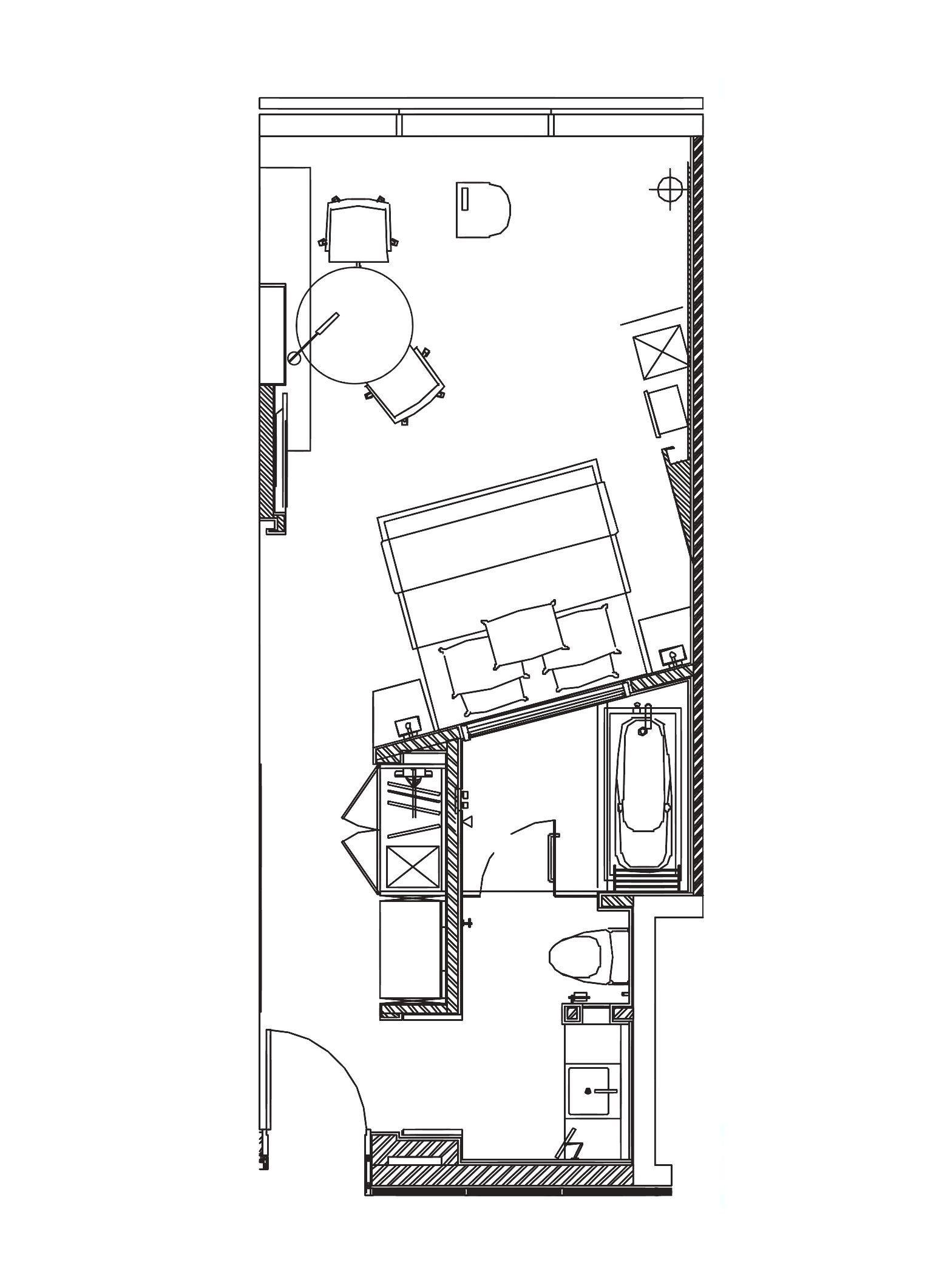 Hotel Nikko Suzhou Executive Room 37 43 M Hotel Room Design Plan Hotel Room Design Hotel Room Plan
