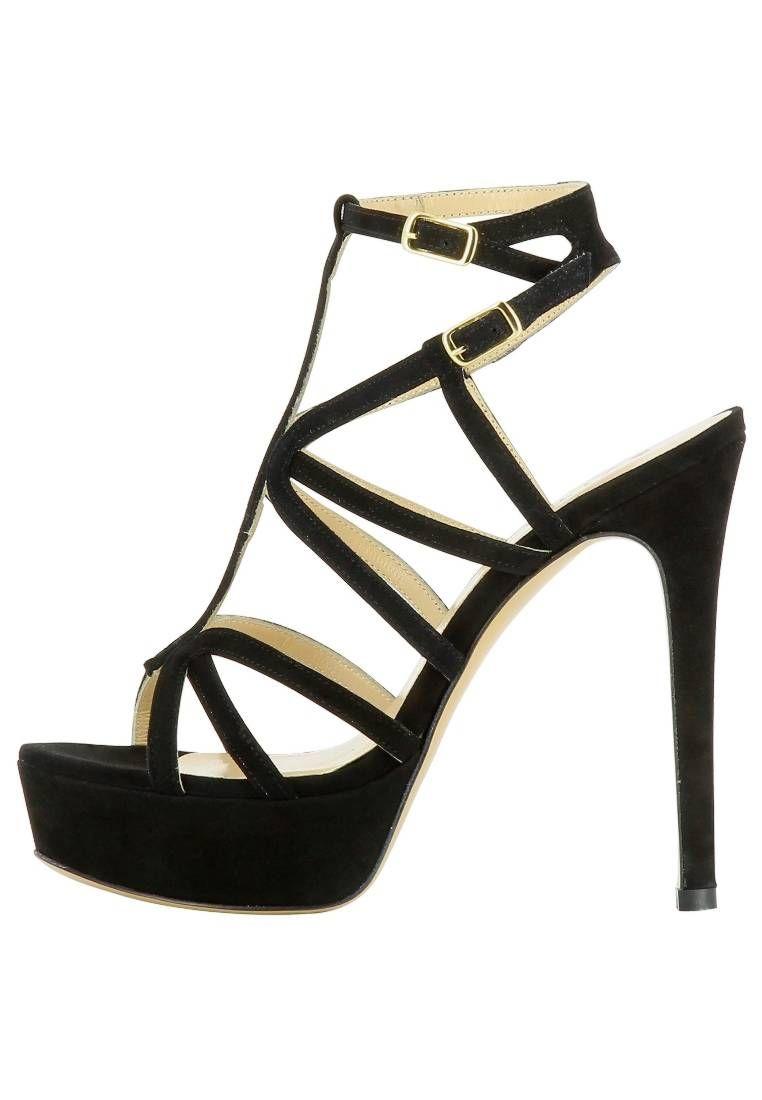 Evita »NANDA« High-Heel-Sandalette, schwarz, schwarz