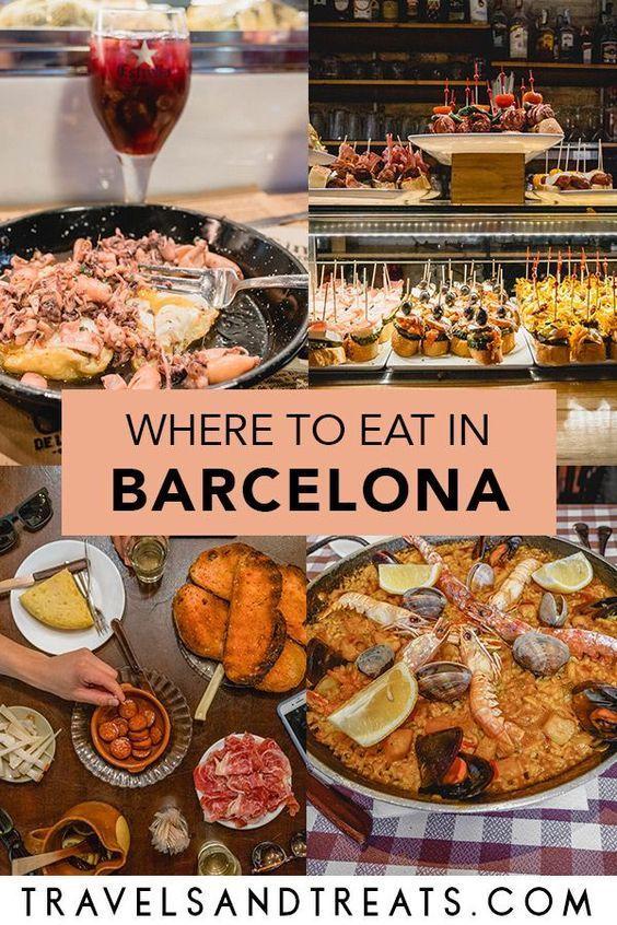 BARCELONA FOODIE GUIDE: Must-Eat Food in Barcelona