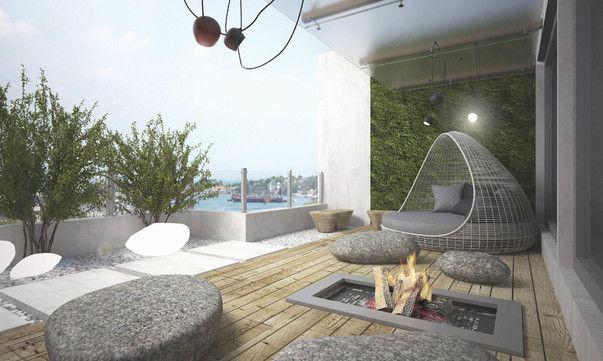 Уютная лоджия. Фото озеленения лоджии | Decor, Outdoor ...