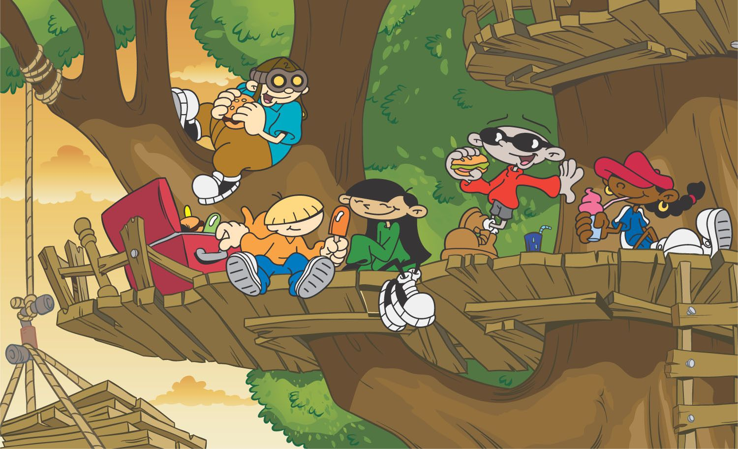 Cartoon Network Shows Next Door Formulas My Childhood Treehouse