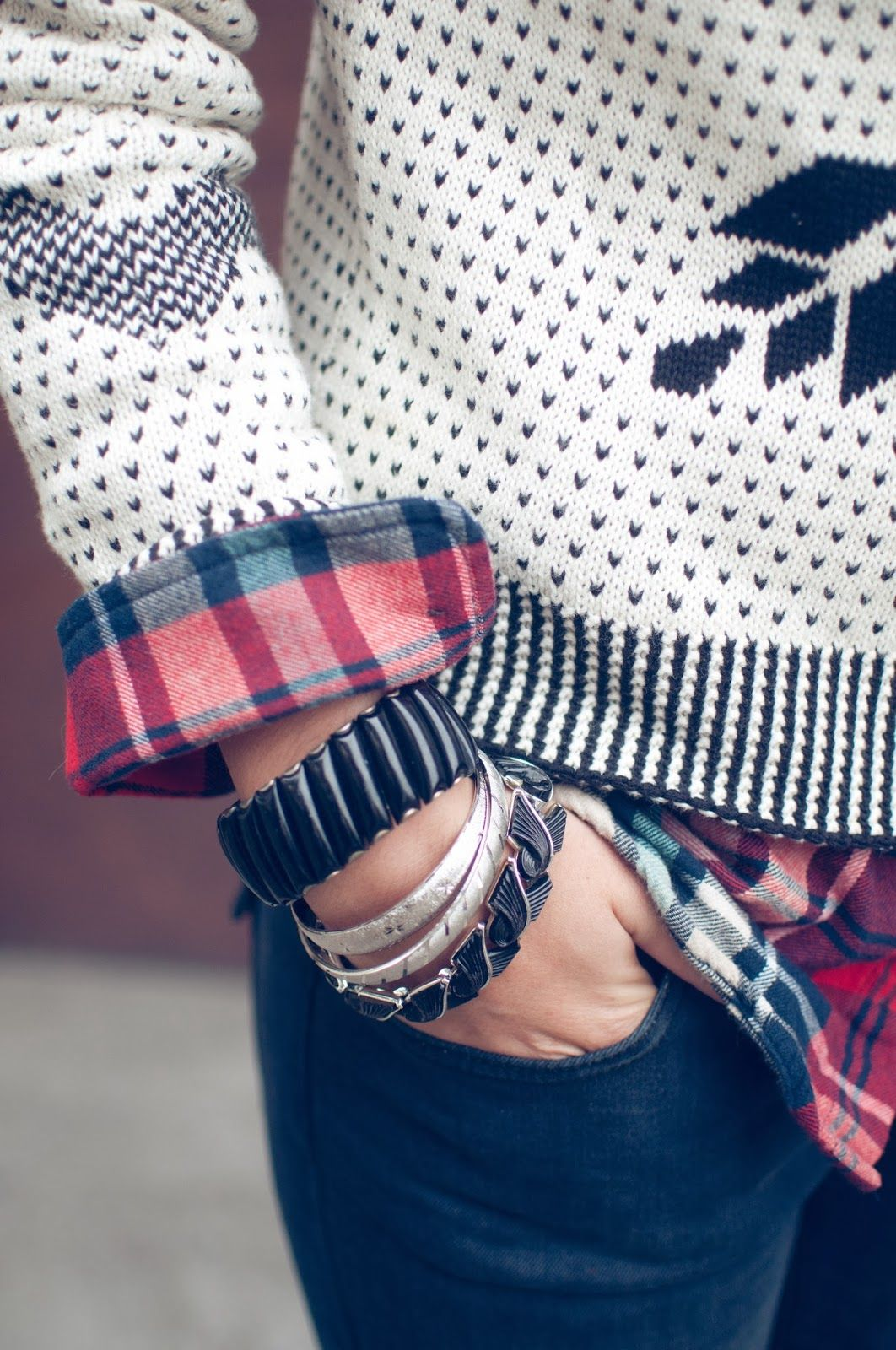 Holiday inspired style