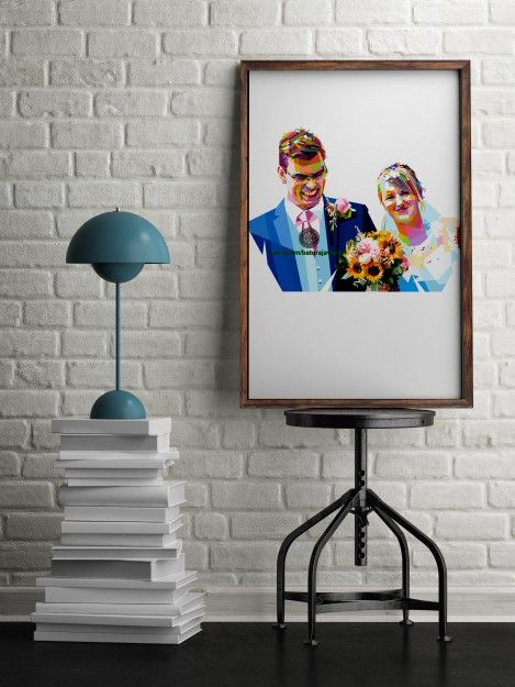 artwork for home and office walls #iammarried
