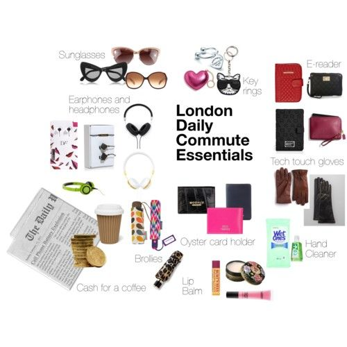 The London Commute! The essentials to get you through the morning and the evening rush hour