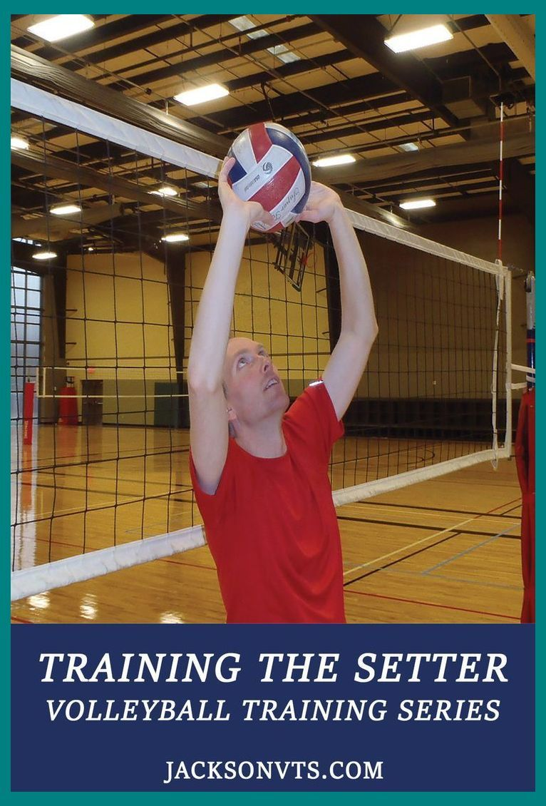 Volleyball Setting Drills Usually Involve Setting Balls From A Coaches Toss Or From Players P Volleyball Training Volleyball Workouts Volleyball Skills