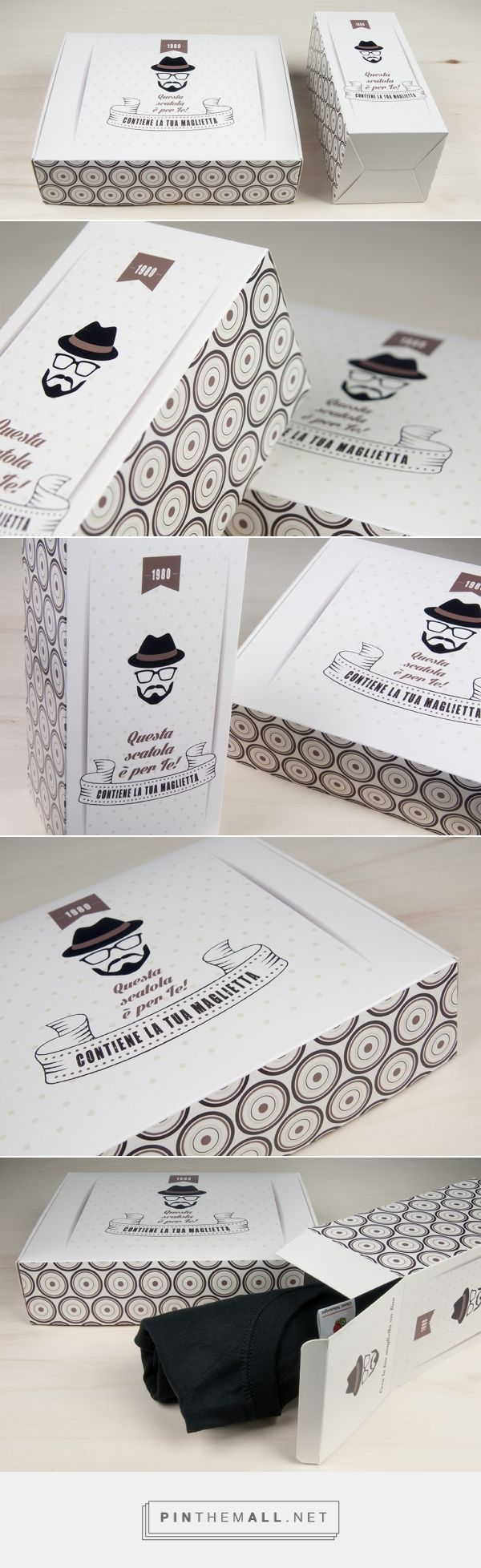 Shirt design types - Fashion Custom T Shirt Packaging In Two Different Types Of Boxes Hinged Lid