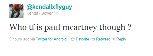The Internet Wants To Know Who Paul McCartney Is