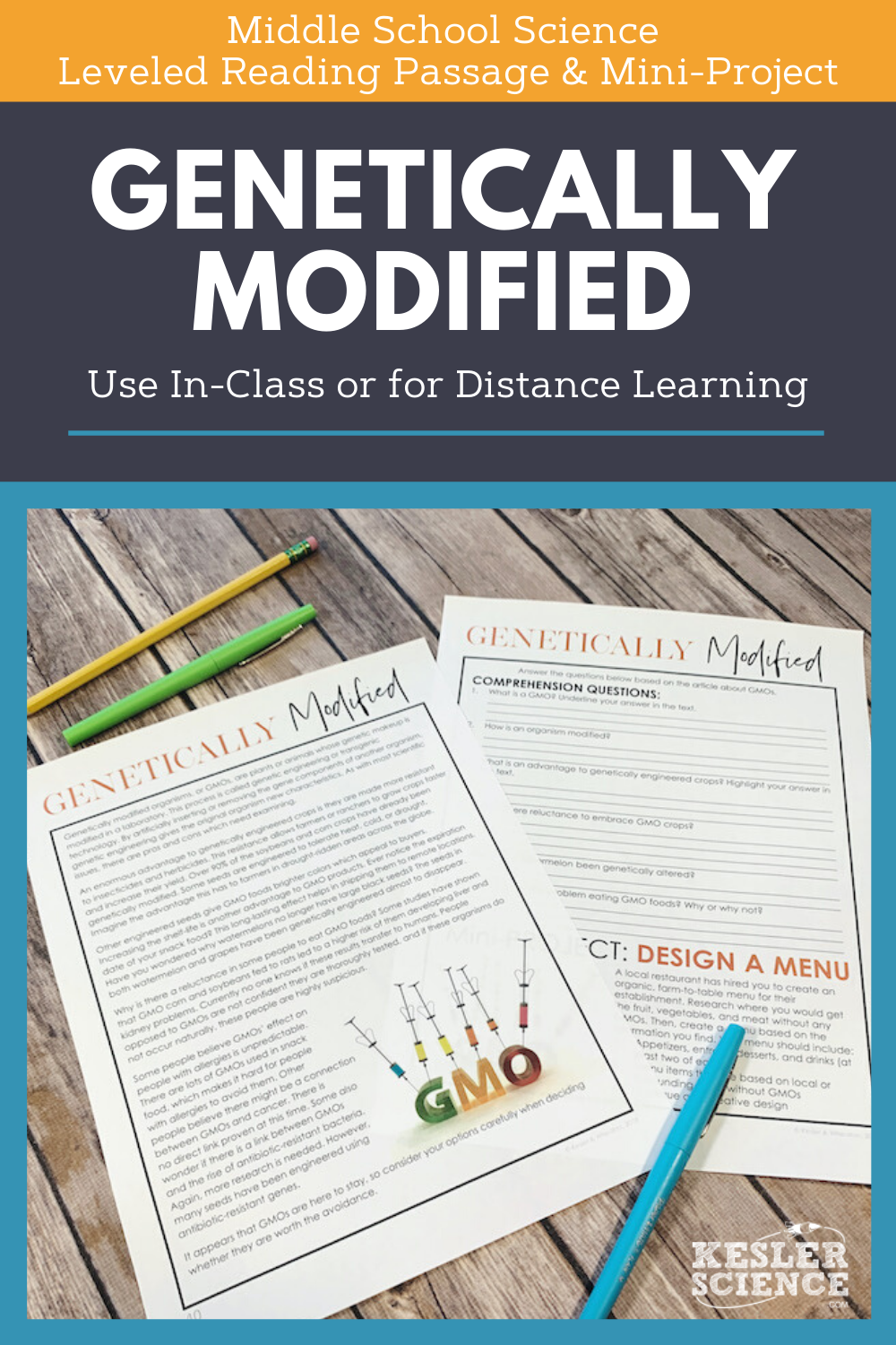 Science Reading Comprehension Genetically Modified Distance Learning Science Reading Comprehension Science Reading Reading Comprehension [ 1500 x 1000 Pixel ]