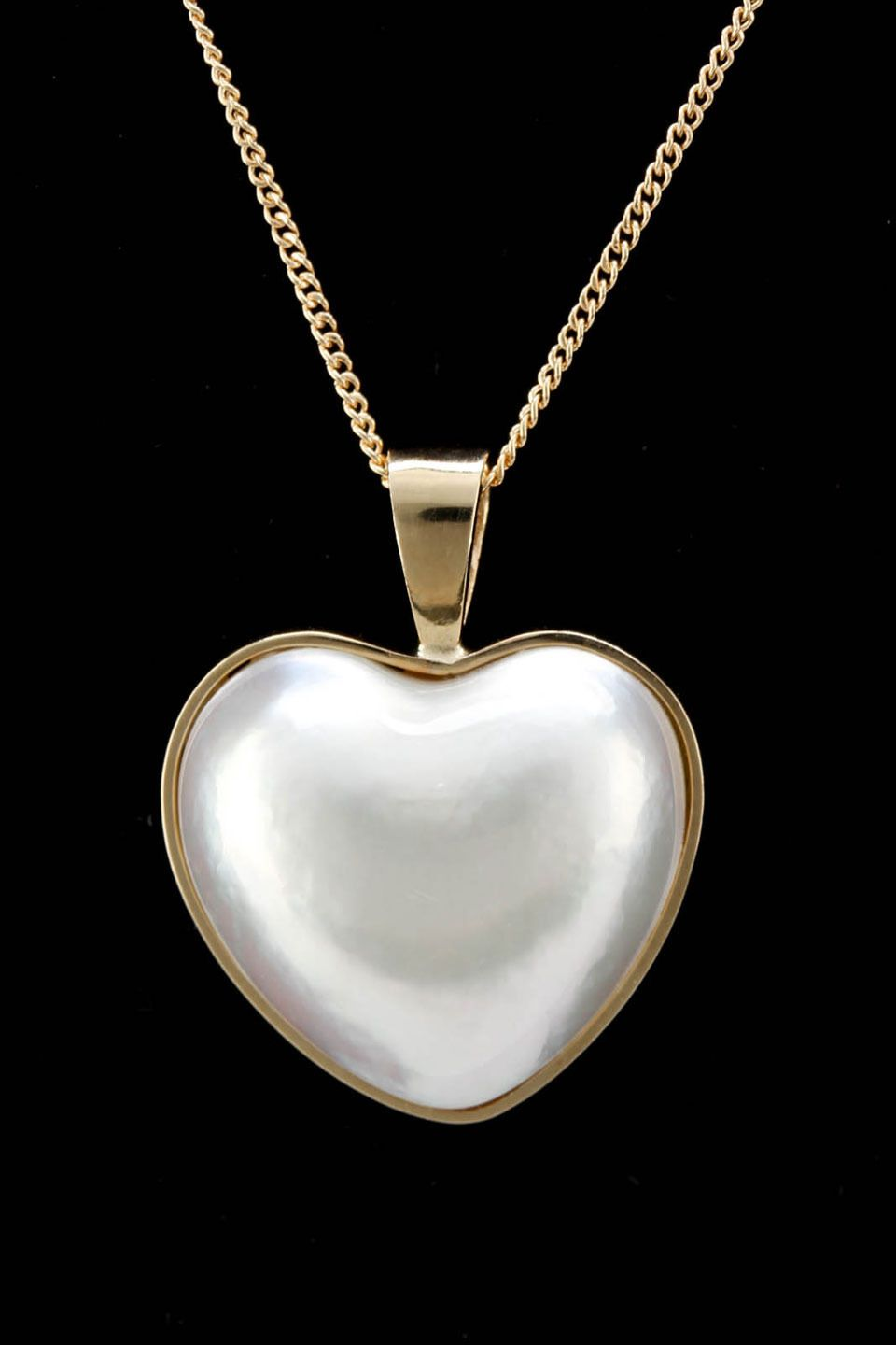 Heart pearl necklace - Beyond the Rack | Pearl necklace ideas ...