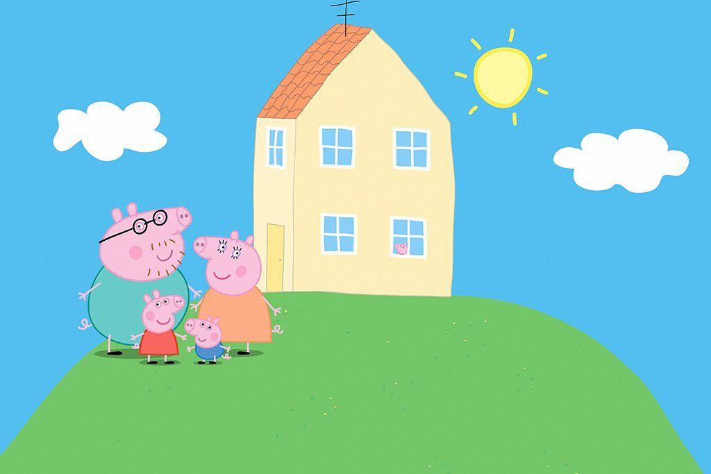 Peppa Pig Series Poster | Peppa pig house, Peppa pig ...