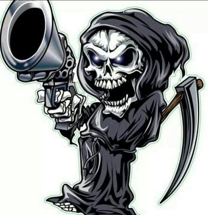 Animated Skull Skulls Drawing Skull Art Drawing Grim Reaper Art