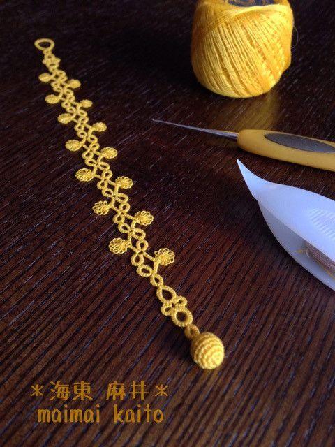 crochet bracelet | Crochet 2 | Pinterest | Encaje de palo de escoba ...