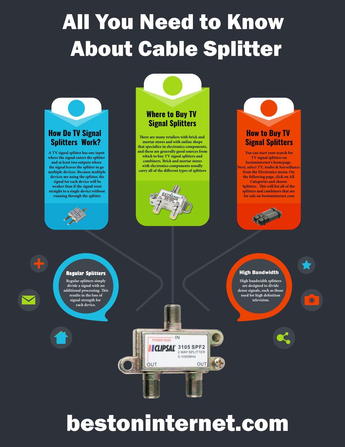 Tips For Buying Cablesplitter Tv Http Bestoninternetcom Signal Splitter Wiring Diagram