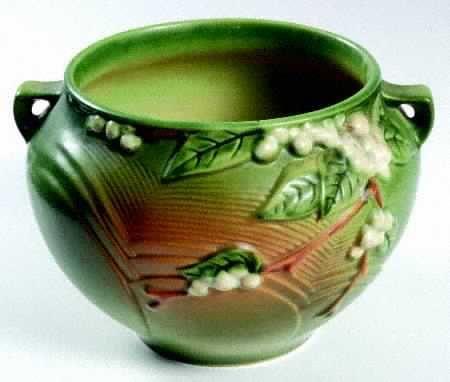 Roseville Snowberry Vase Vases Sale Art Pinterest Roseville