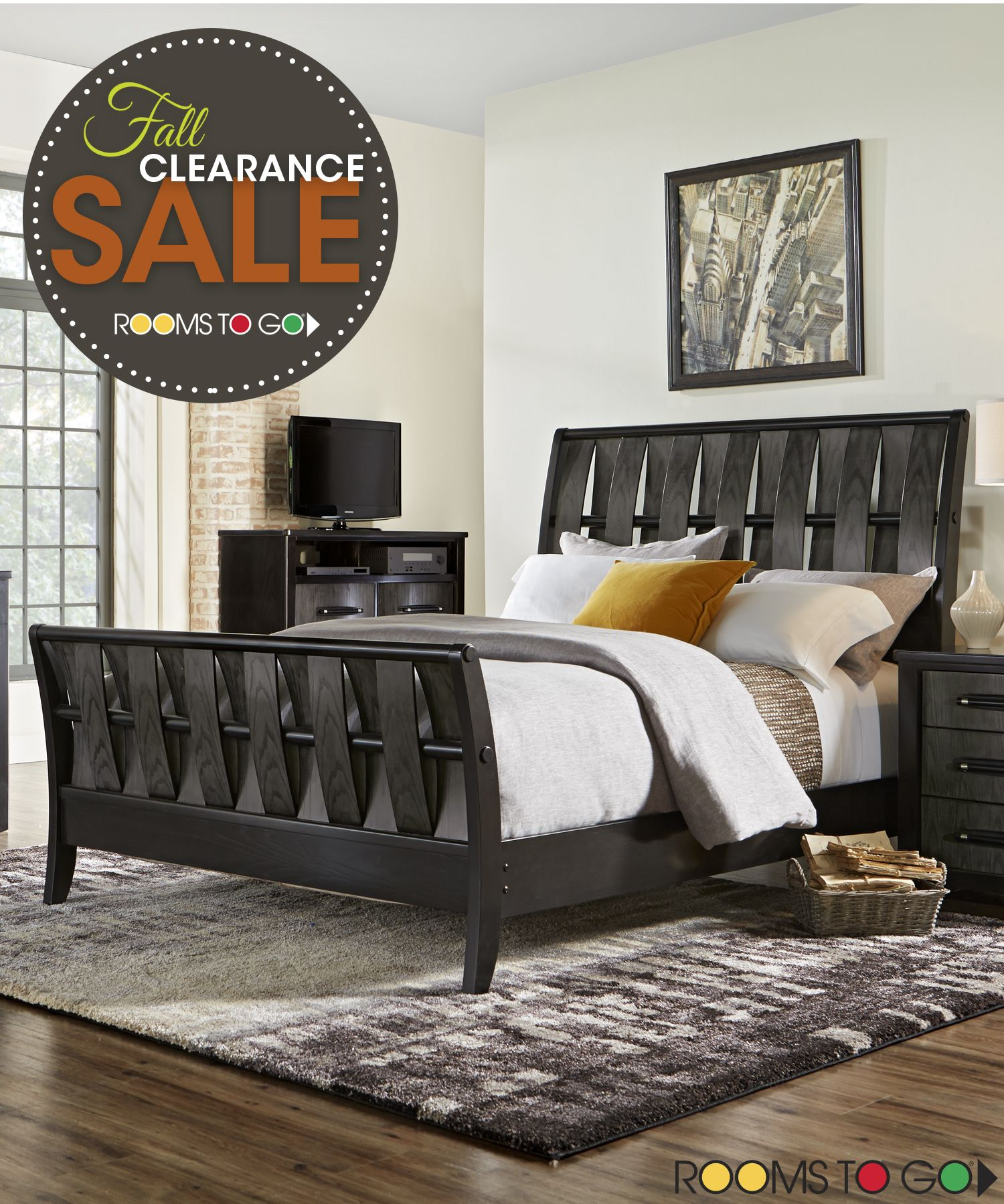 Visit Rooms To Go Now During Our Fall Clearance Sales Event And