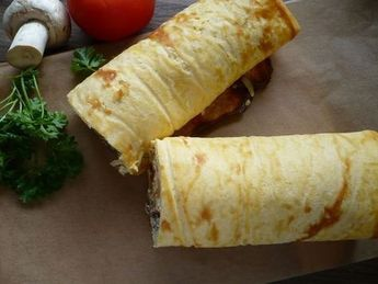 Pizza-Rolle ohne Mehl, Low Carb #lowcarbveggies