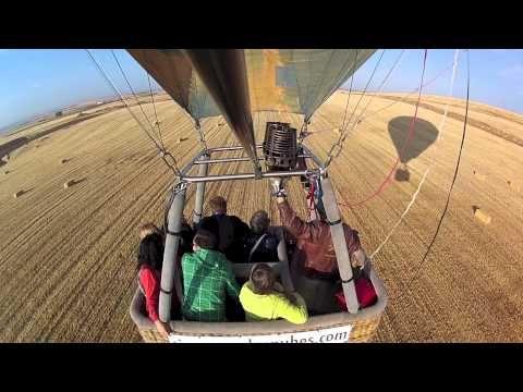 Vuelo en globo en Salamanca (España)  Ride Balloon in Salamanca (Spain)    Más información en http://www.siempreenlasnubes.com