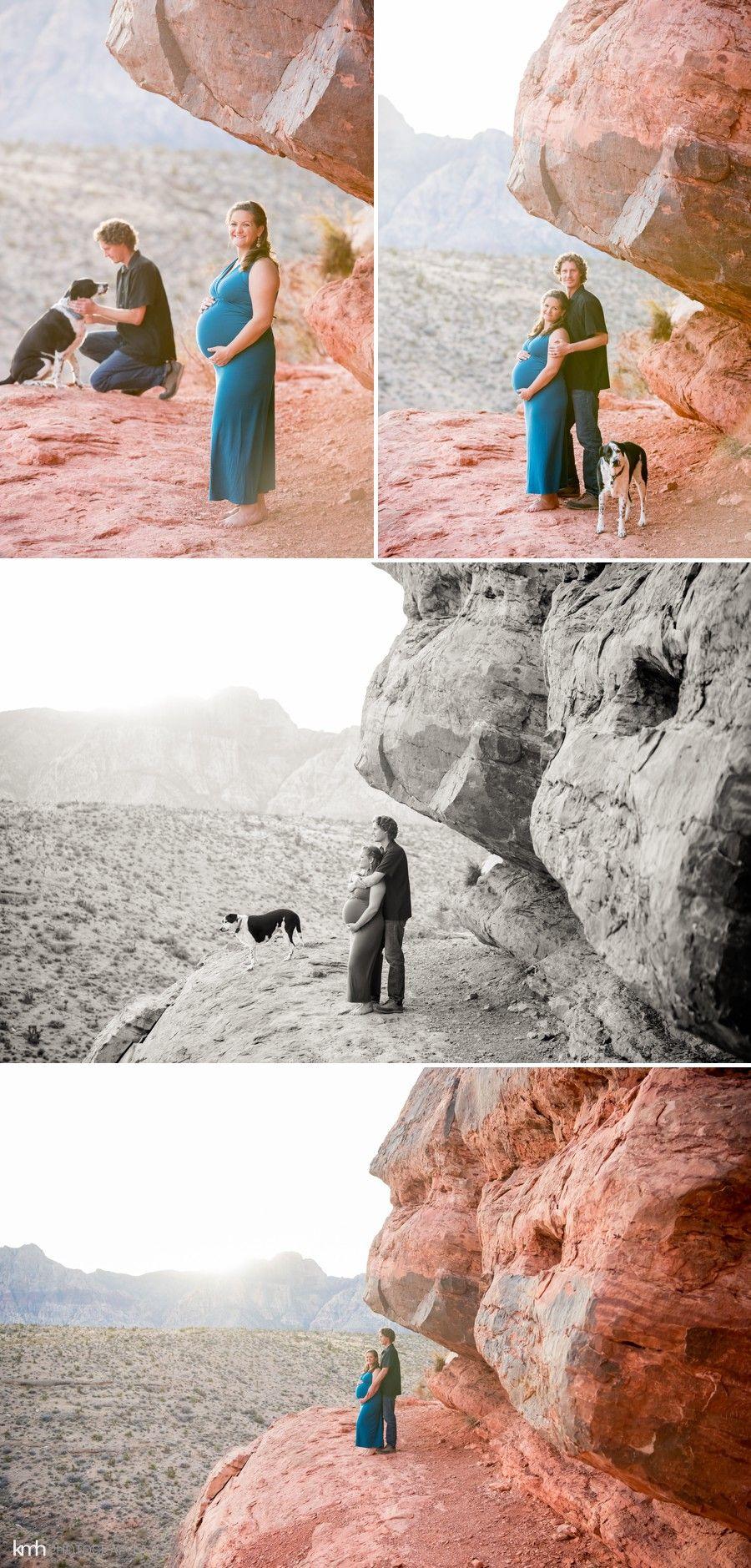 Desert Maternity Session | KMH Photography, Las Vegas Wedding Photographer