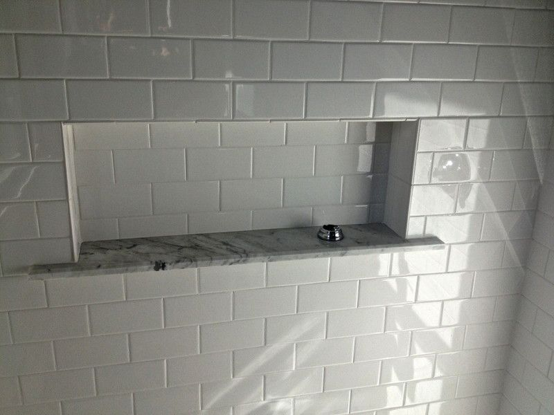 Large Recessed Shower Box