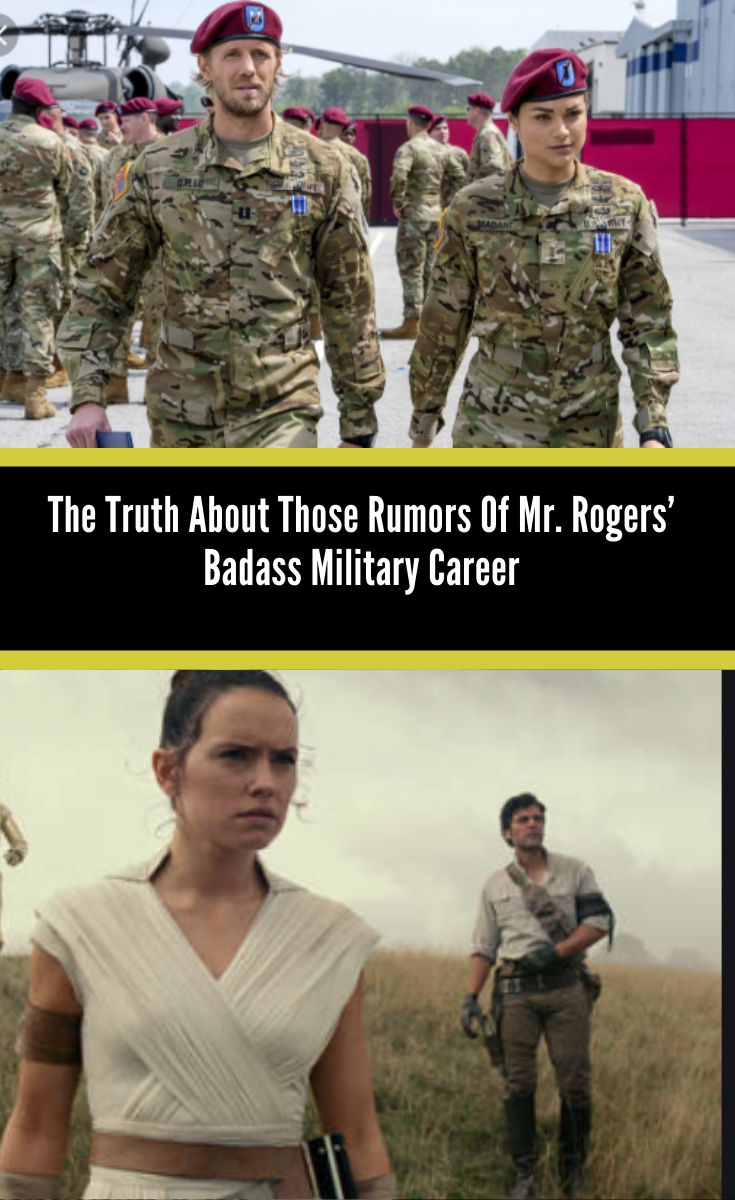 The Truth About Those Rumors Of Mr Rogers Badass Military Career In 2020 Military Careers Mister Rogers Neighborhood Military