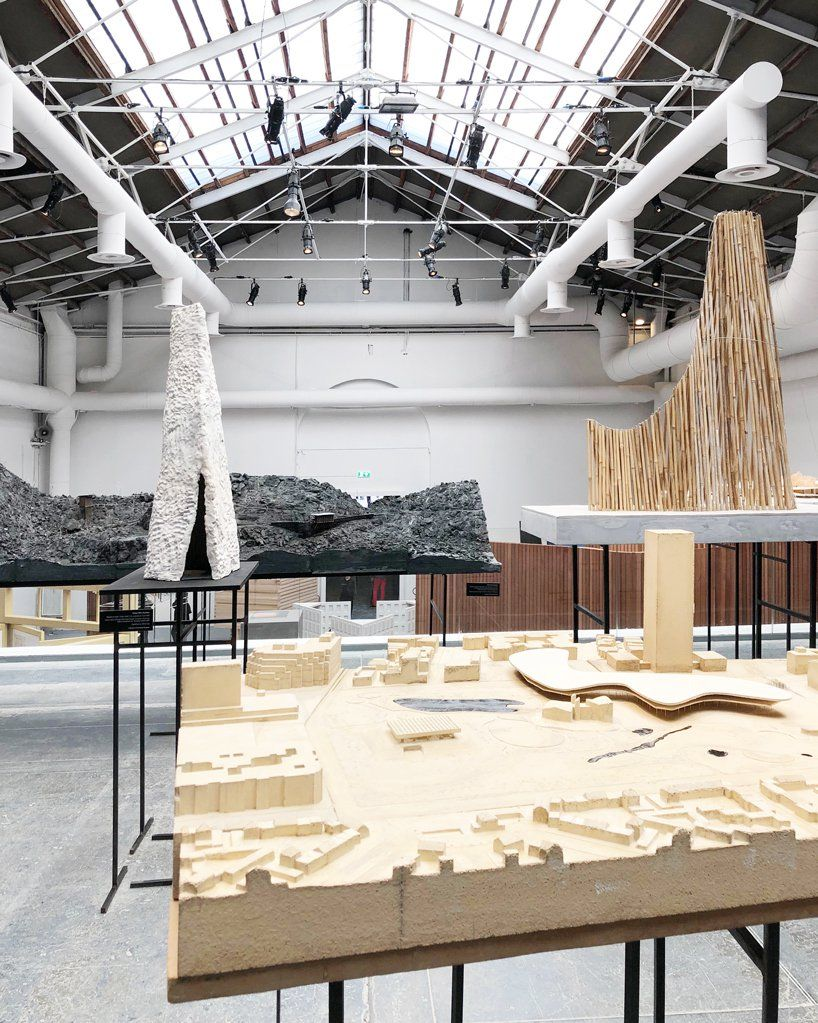 peter zumthor puts a of models on display at