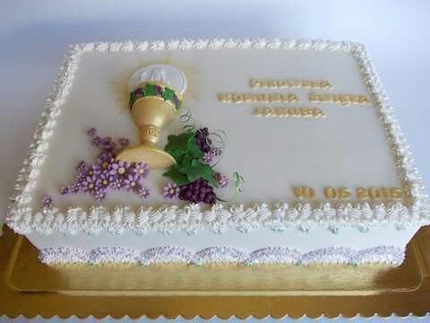Pin by Anthony Winter on First Communion cake Pinterest