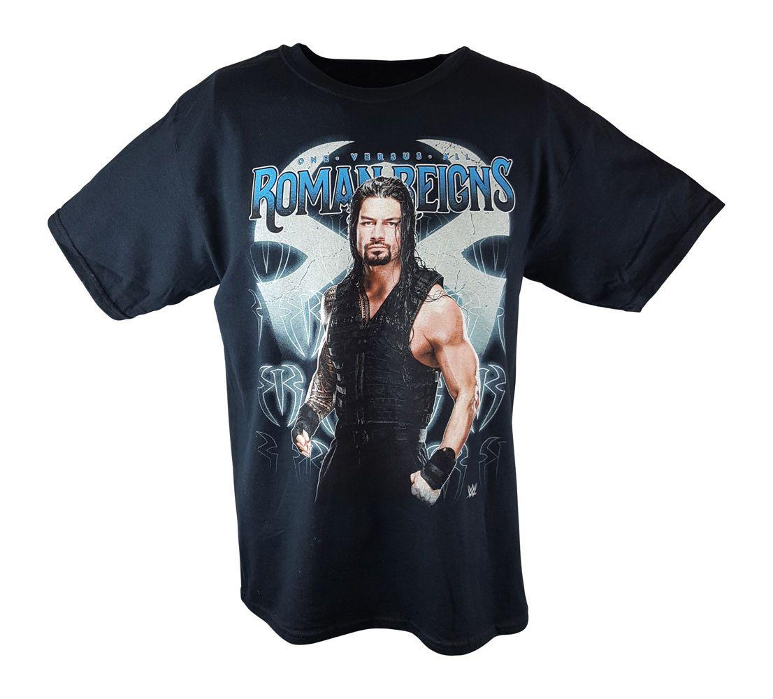 Roman Reigns One Versus All Portrait Kids Boys WWE T-shirt - http:/