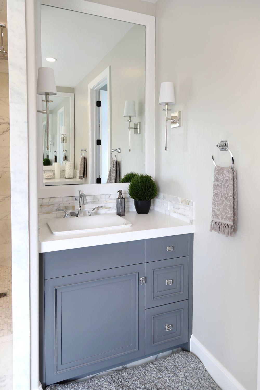 Modern Bathroom Wall Colors In 2020 Bathroom Wall Colors French Country Bathroom Simple Bathroom
