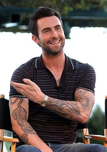 Adam Levine Tiger Tattoo : levine, tiger, tattoo, Penny, Sacks, (psdolphin), Profile, Pinterest