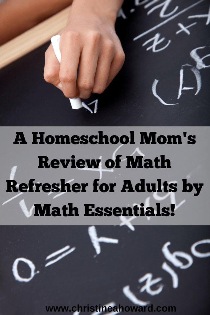 A Homeschool Mom\'s Review of Math Refresher for Adults by Math ...