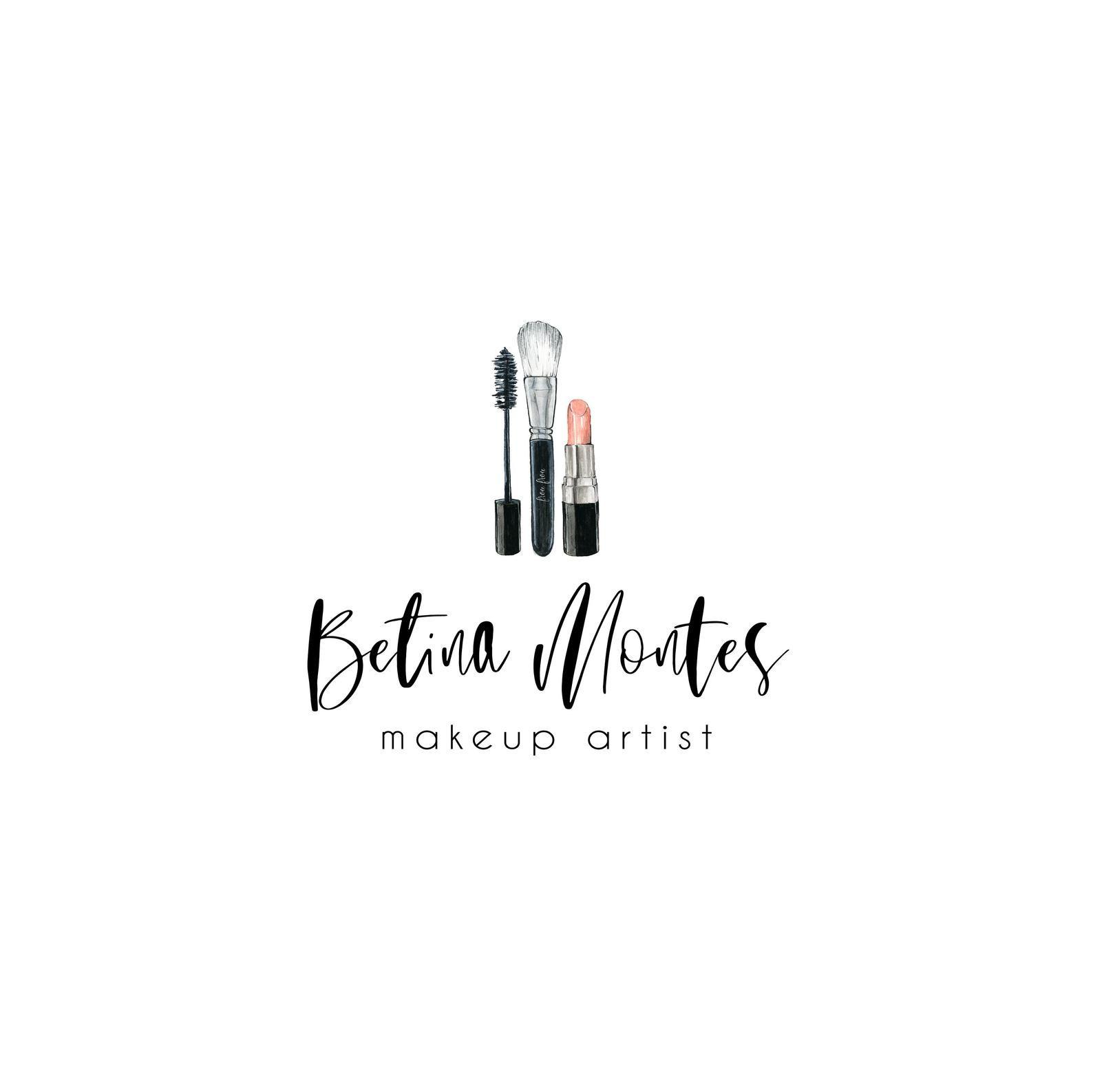 Premade Makeup Logo Makeup Artist Logo Lipstick Makeup Logo Etsy Makeup Artist Logo Makeup Logo Artist Logo