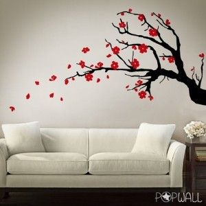 My Wall Painting Cherry Blossom Wall Art Sticker Wall Art Wall Painting