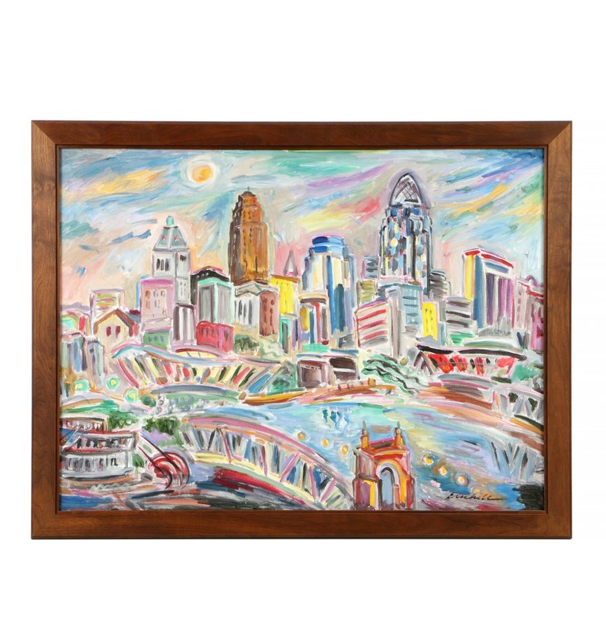 Robert Rabe Art Prints Of Cincinnati Scenes Prints