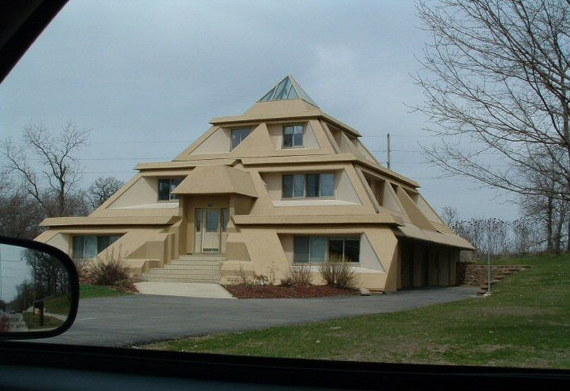 Google image result for for Pyramid home plans