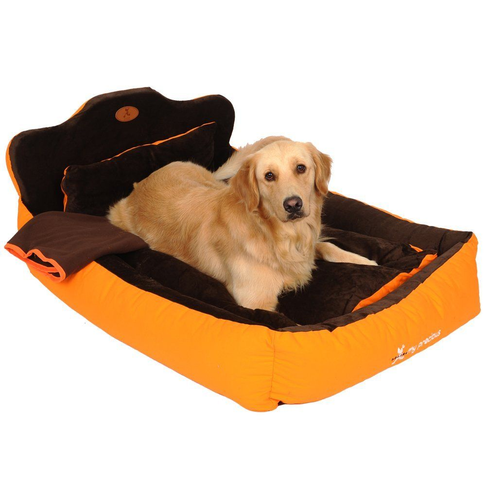 3f0c52e3ac1b Washable 3 Pieces Big Large Dog Sofa Bed Kennel Soft Luxury Pet Dog Cat  Princess Sofa Bed Nest Golden Retriever Dog Bed House Nest Mat Cushion (Pet  bed ...