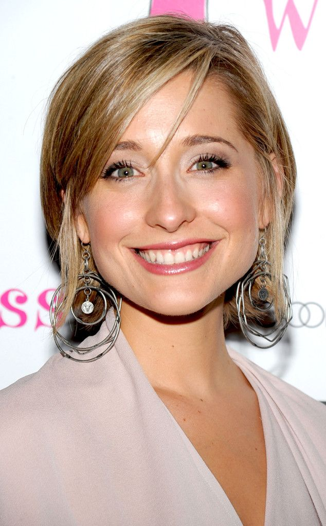 smallville cast on allison mack