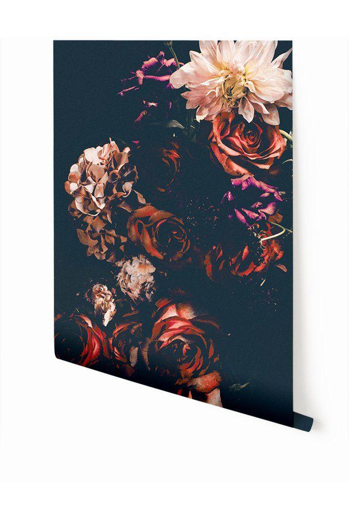 Wallpaper  Gothic Garden© \/\/ Large WALLPAPER Pinterest - wandgestaltung gothic