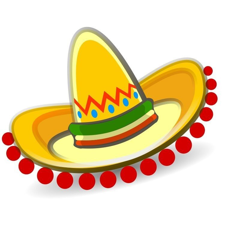 Pin By Melba Gotay On Kids Fun And Learning Activities Mexican Hat Free Clip Art Clip Art