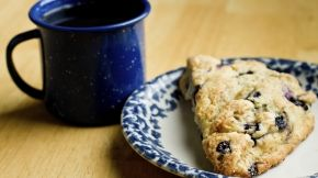 Blueberry & Almond Scone