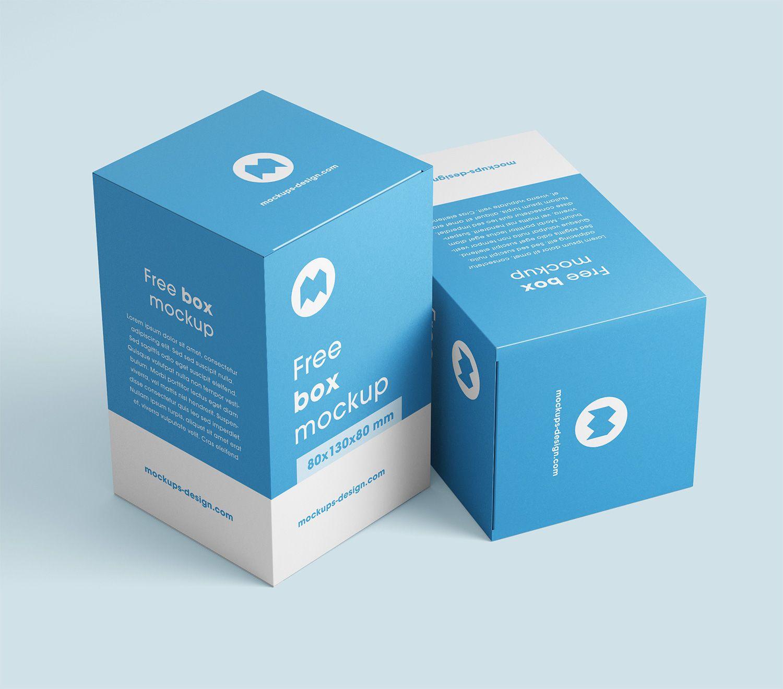 Download Box Mockups Free Free Mockup Box Mockup Free Packaging Mockup Free Boxes