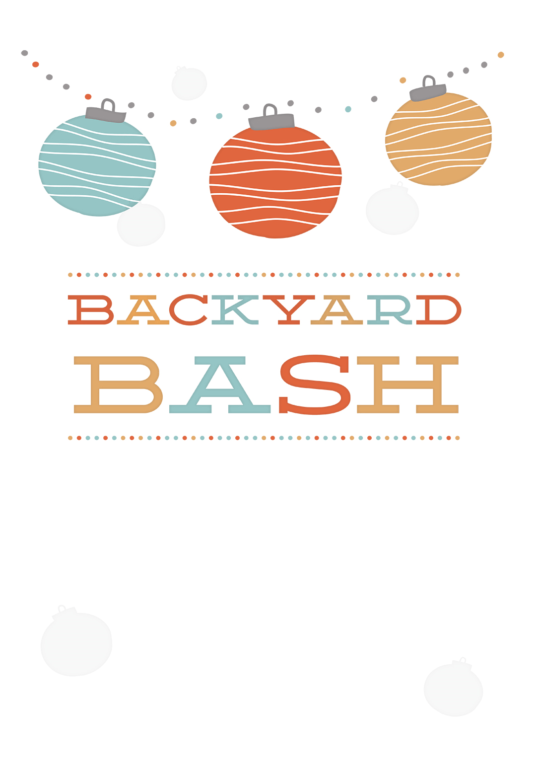 picture relating to Beach Party Invitations Free Printable identify Garden Occasion - Free of charge Printable Get together Invitation Template