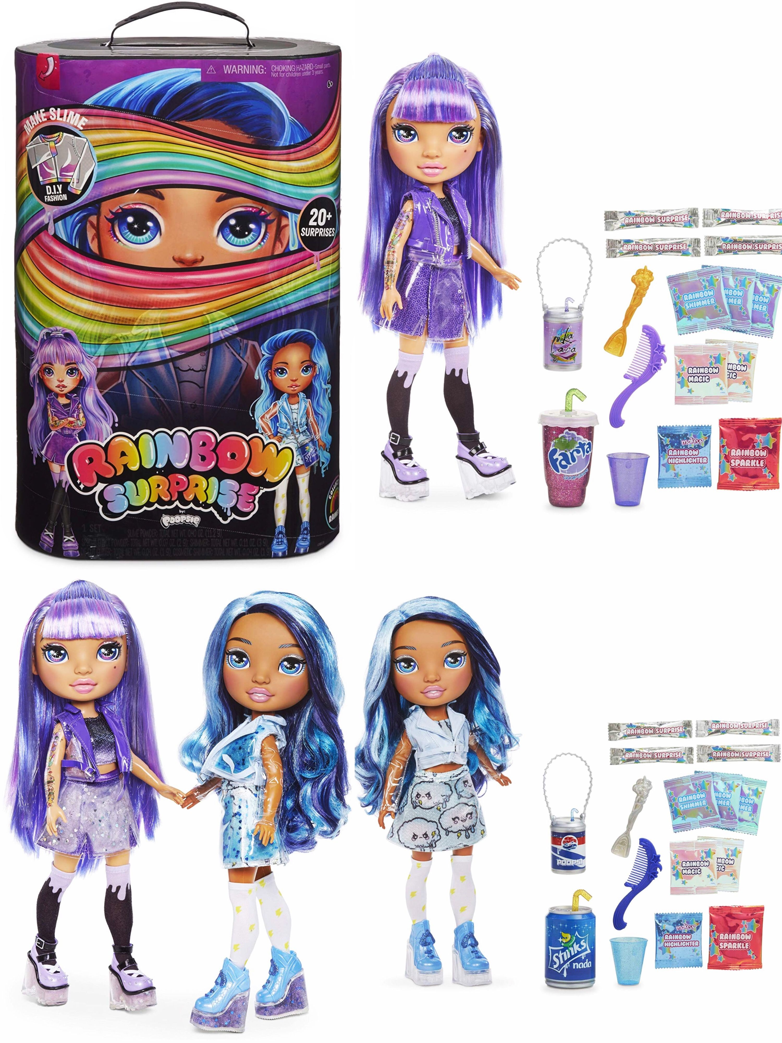 Poopsie Rainbow Surprises Purple or Blue Unbox 20