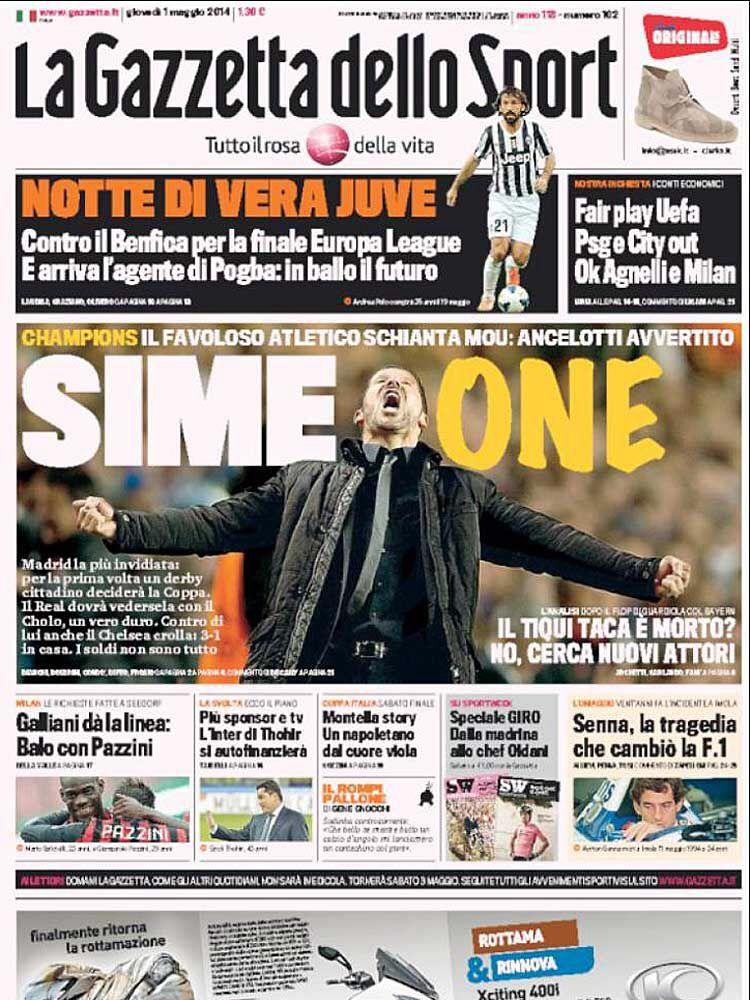 Sime One!... (con imágenes) Final de champions, Atletico