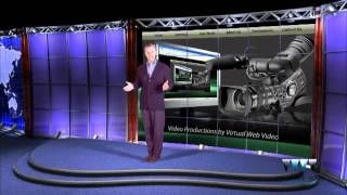 http://www.virtualwebvideo.com Virtual Web Video has a wide variety of Virtual Reality Sets to choose from. Shooting your video using Green Screen Technology allows us to place the performer into any of our available sets. Call 1-888-338-7355 for more information.