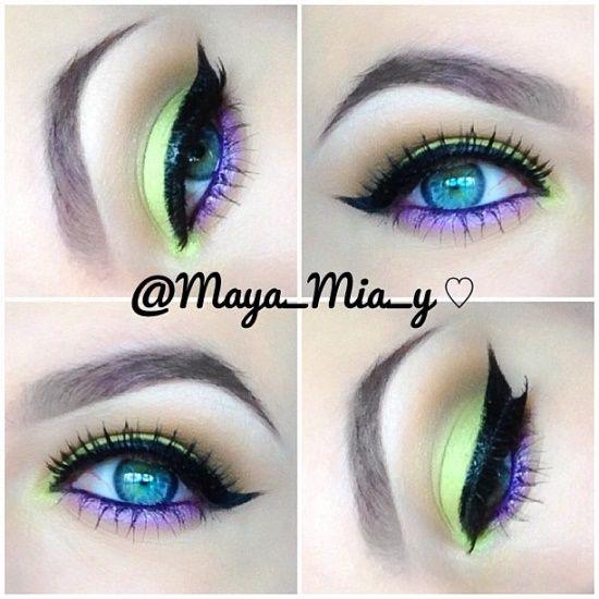 Instagram Post by Maya Mia 🐝 (@maya_mia_y) Neón, Maquillaje y