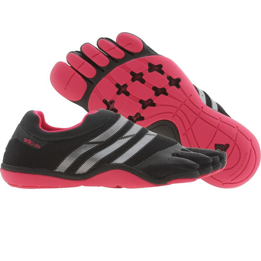 info for 56501 7b0b5 Adidas Womens Adipure Trainer (black  metallic silver  bright pink)  G61621 - 89.99